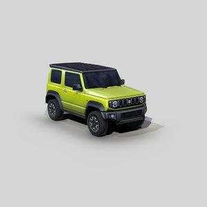 suzuki jimny sierra suv 3D model