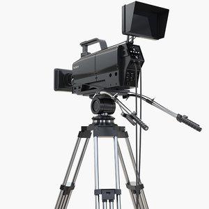 studio camera tv 3D