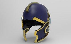avengers thanos helmet mask 3D model