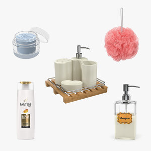 3D bathroom accessories 2