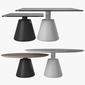 coffee table madrid 3D model