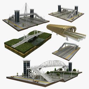 bridge 6 1 3D model