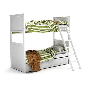 3D cama superpuesta