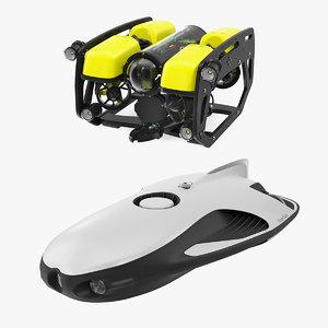 3D underwater robots