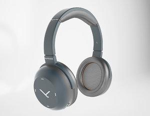 headphones beyerdynamic 3D model
