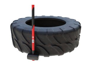 3D crossfit hammer tire model