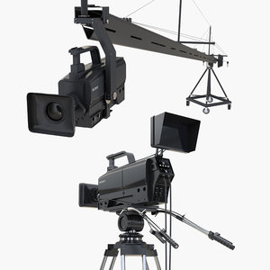 3D broadcast camera tv