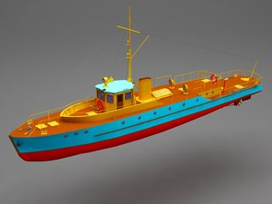 battle boat 3D