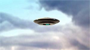 ufo animate 3D model