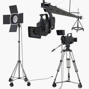 cameras light 3D