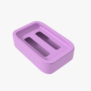 3D soap holder model