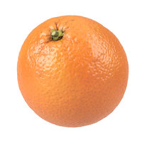 Highly Detailed Orange Scan 2