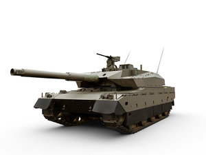 3D type 10 tank