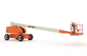 telescopic boom lift - 3D