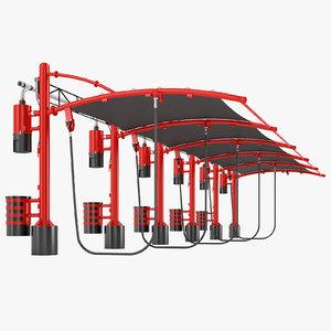 3D vacuum express car