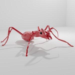 3D ant ruby