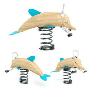 dolphin spring rocker 3D model