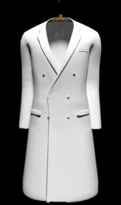 3D lab coat model