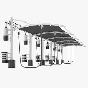 vacuum express car 3D model