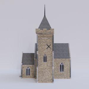 church hdris 3D