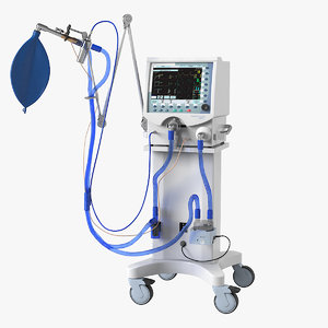 medical artificial lung ventilation model