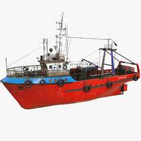 Fishing Trawler PBR