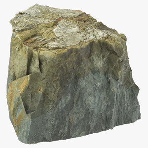3D mountain rock 21
