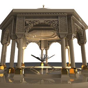 arc islamic 3D model