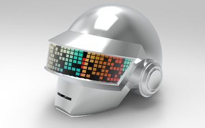 daft punk s thomas 3D model