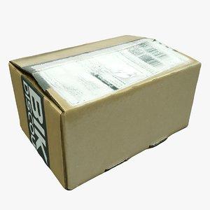 3D post box