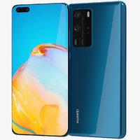 Huawei P40 Pro Blue