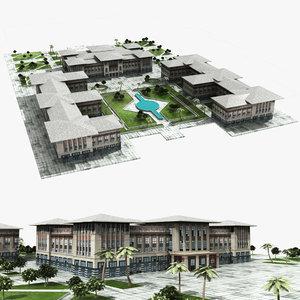 presidency palace 3D model