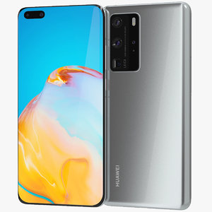 3D realistic huawei p40 pro