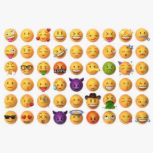 3D model emoji pack