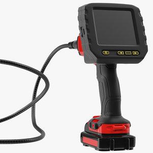 inspection camera rigged model
