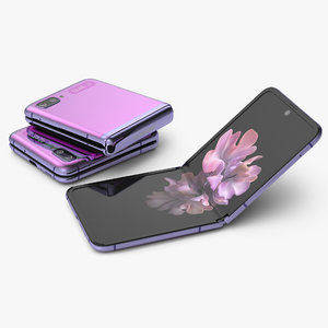 3D mirror purple samsung galaxy