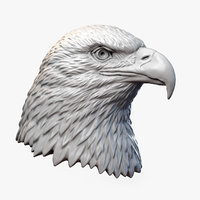 Bald Eagle Head Sculpture