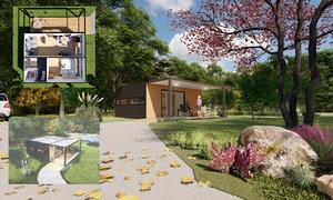 design accessible home housing 3D model
