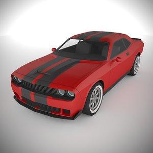 3D polycar n94 lp1 cars