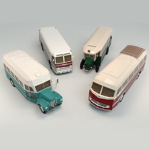 stylized 3D model