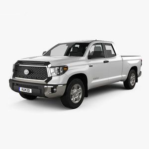 toyota tundra double 3D model