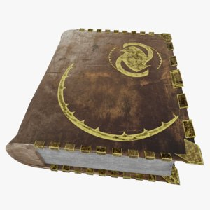 foliant book abc 3D model