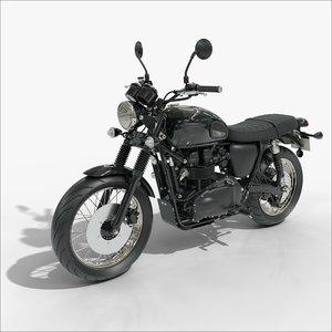 triumph motorcycle 3D model
