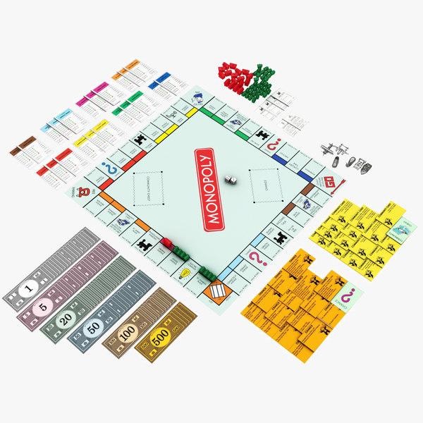 monopoly set model