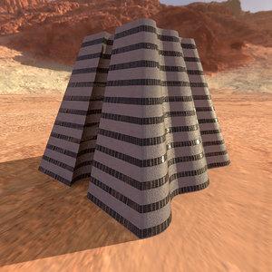 alien building 3D