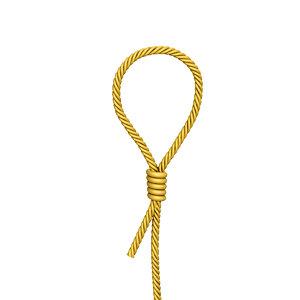 gibbet noose 3D model