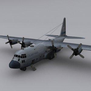 hercules c-130 3D