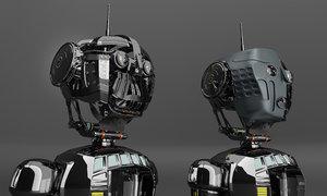 robot technology 3D