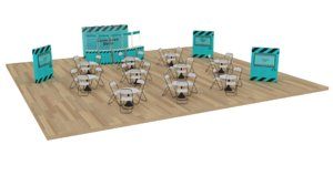 promotion exhibition booth 3D