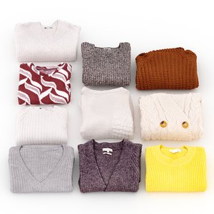 womens sweaters folded model
